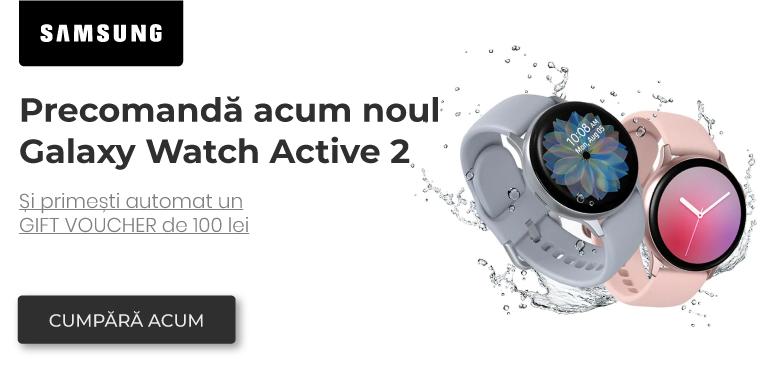 Precomanda Galaxy Watch Active 2