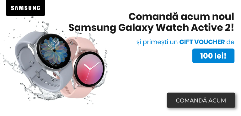 Precomanda Galaxy Watch Active 2