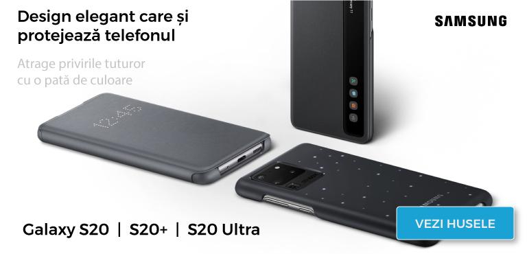 Huse originale pentru telefonul tau Samsung Galaxy S20 |  S20+ | S20 Ultra