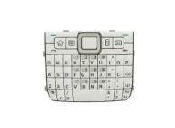 Tastatura Nokia E71 Qwerty alba Originala