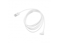 Cablu de date Apple iPhone 5 3m alb