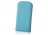 Husa piele Samsung Galaxy A3 Flip Deluxe bleu