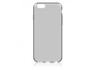 Husa silicon TPU Apple iPhone 6 Ultra Slim transparenta gri