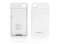 Acumulator extern Apple iPhone 4S 1900mA Ultra Slim alb Blister