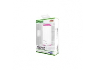 Incarcator mobil de urgenta cu difuzor Bluetooth Bilitong roz Blister Original