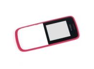 Carcasa fata Nokia 110 roz Originala