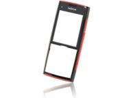 Carcasa fata Nokia X2 neagra rosie Originala
