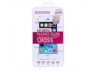 Folie Protectie ecran antisoc Apple iPhone 5 Tempered Glass Blueline Blister