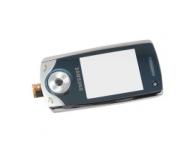 Carcasa fata Samsung U700 argintie Originala