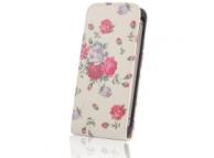 Husa piele Nokia Lumia 530 Vintage Rose