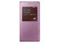 Husa piele Samsung Galaxy S5 mini EF-CG800BP roz Blister Originala