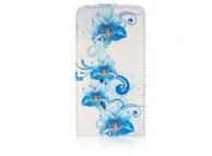 Husa piele Samsung I9105 Galaxy S II Plus Blue Mist