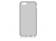 Husa silicon TPU Apple iPhone 6 Slim gri transparenta
