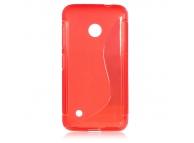 Husa silicon TPU Nokia Lumia 530 Wave rosie