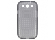 Husa silicon Samsung I9300 Galaxy S III EF-AI930B gri Originala