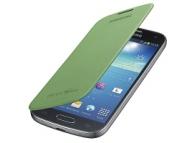 Husa piele Samsung I9190 Galaxy S4 mini EF-FI919BG verde Originala