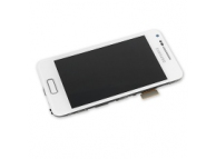 Display cu touchscreen Samsung I9070 Galaxy S Advance cu rama alb Original