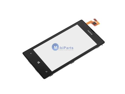 Carcasa fata cu touchscreen Nokia Lumia 520 Originala