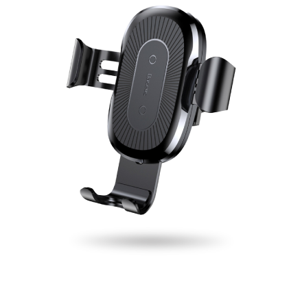 Incarcator auto wireless Baseus Gravity Mount, Fast Char...