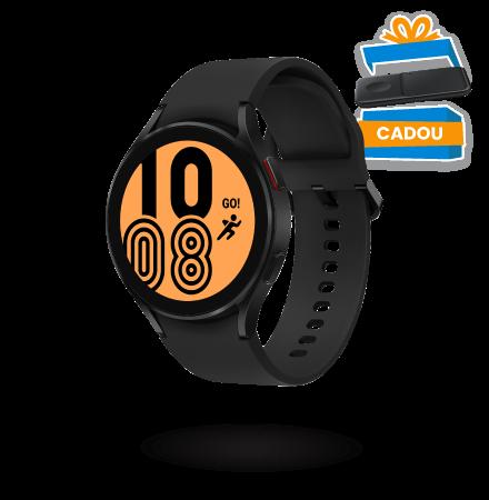 Ceas Smartwatch Samsung Galaxy Watch4, 44mm, BT, Negru S...