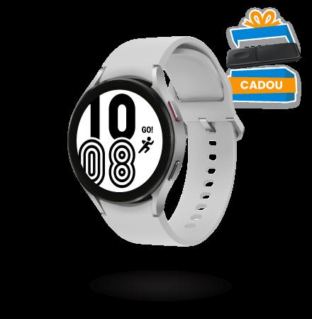 Ceas Smartwatch Samsung Galaxy Watch4, 44mm, BT, Arginti...