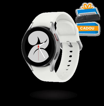 Ceas Smartwatch Samsung Galaxy Watch4, 40mm, BT, Arginti...